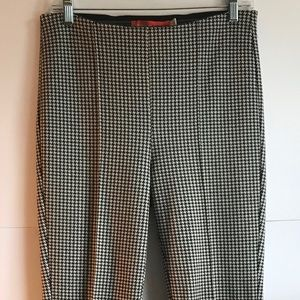 Anthropologie Cartonnier Houndstooth Pants